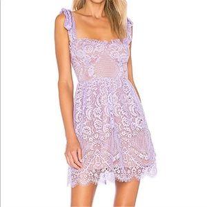 Valentina Lace Mini Dress